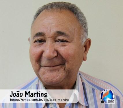 João Martins, poeta, participante no projeto Publique-se da SMDP em prol do Café com Poesia. Coleção: Leveza da Alma - Volume 3
