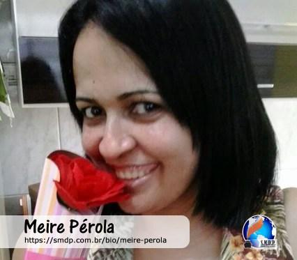 Meire Pérola, poeta, participante no projeto Publique-se da SMDP em prol do Café com Poesia. Coleção: Leveza da Alma - Volume 7
