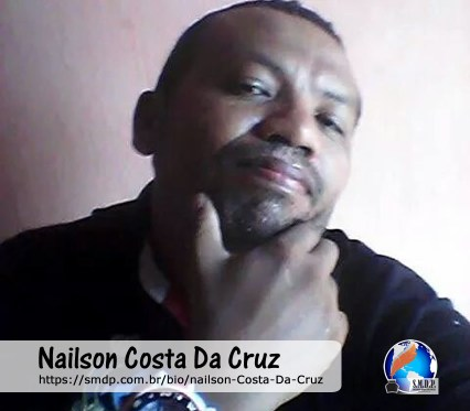 Nailson Costa, poeta, participante no projeto Publique-se da SMDP em prol do Café com Poesia. Coleção: Leveza da Alma - Volume 8
