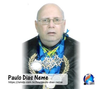 Paulo Dias Neme, poeta, participante no projeto Publique-se da SMDP em prol do Café com Poesia. Coleção: Leveza da Alma - Volume 11