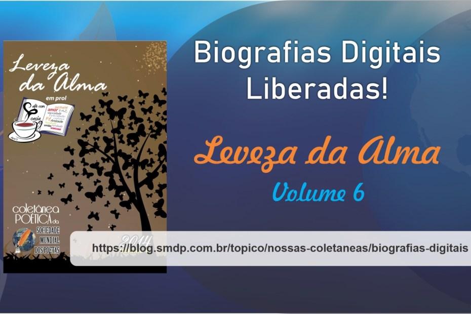 Biografias Digitais da Coletânea Leveza da Alma - Volume 06