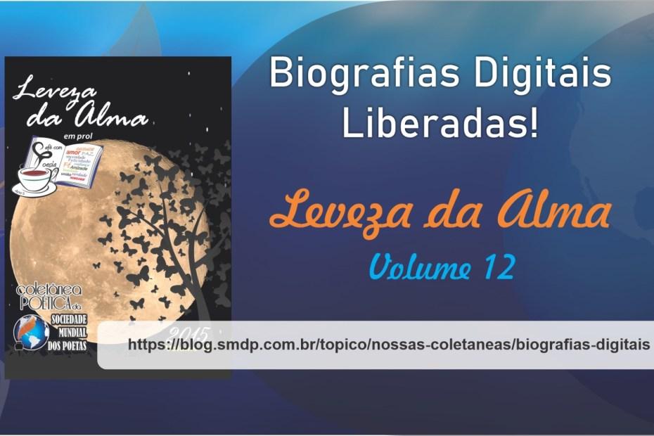 Biografias Digitais da Coletânea Leveza da Alma - Volume 12