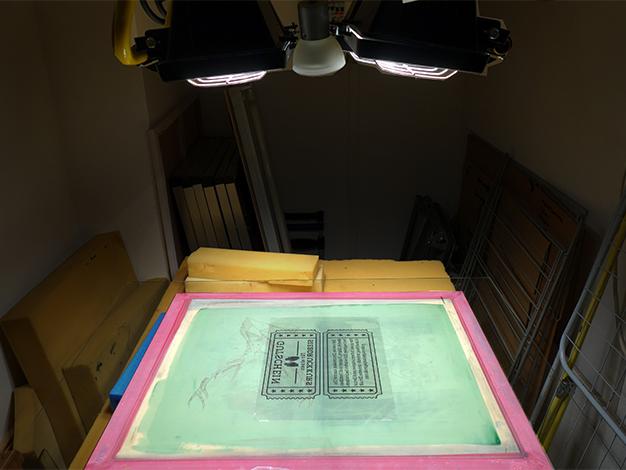 Holzgutscheine für unseren Siebdruckkurs