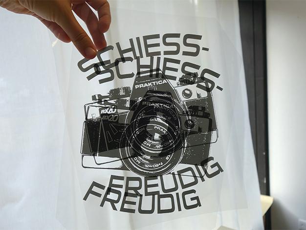 Siebdruckkurs in Berlin - lern drucken mit uns!