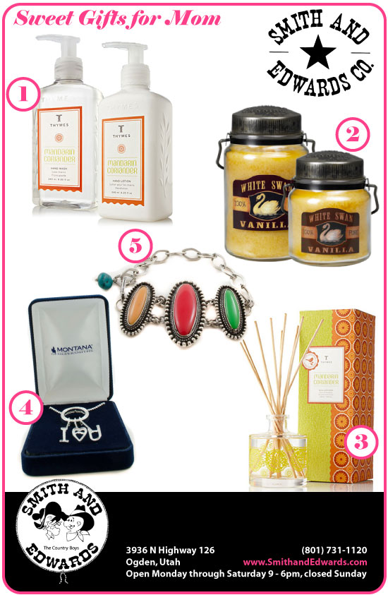 Sweet Gift Ideas for Mom at Smith and Edwards