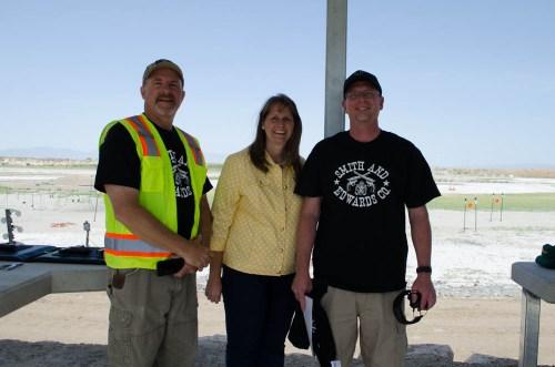 Mayor Karen Cronin at Range Day 2014 in Perry, Utah