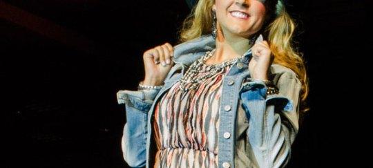 Bailey Jo Woolsey at Miss Rodeo Utah 2014