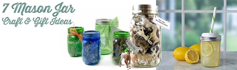 Quick And Easy Mason Jar Crafts Mason Jar Gifts You Can Do