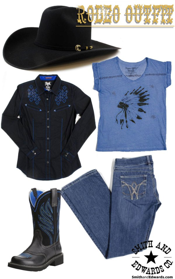 Women's Rodeo Outfit from Smith & Edwards