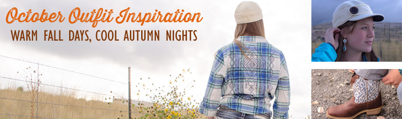 Ladies' country October outfit inspiration