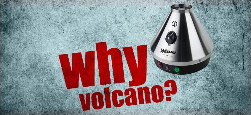 why volcano