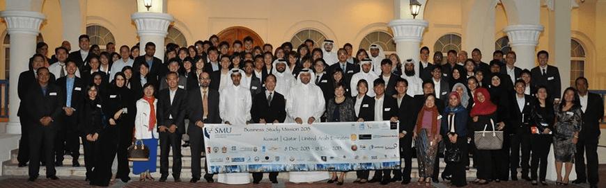 SMU's 2013 Middle East Business Study Mission (BSM) Team