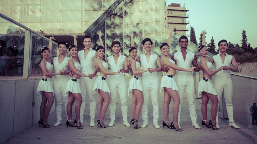 Caderas Latinas  at the Barcelona Dance Grand Prix 2014