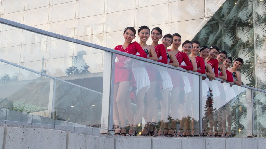 Out of their Latin dancer personas, Caderas Latinas is a smiling family of dancers—happy to welcome you into their ranks.