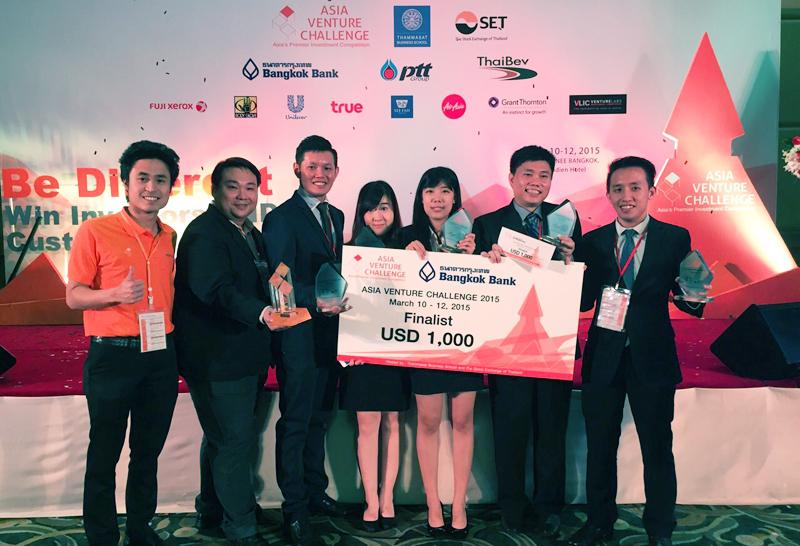 Team DingGo's journey to Asia Venture Challenge 2015