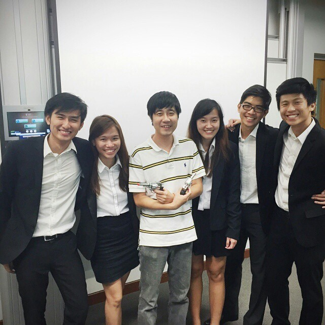 SMU Business - Project work team