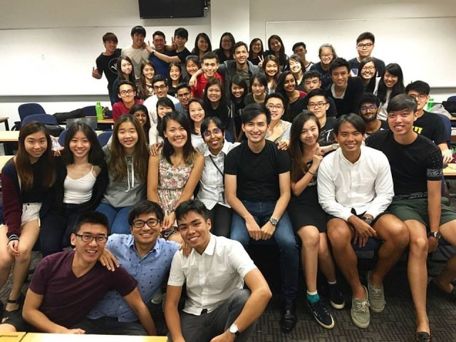 SMU Business - Kenneth's 'Leadership and Team Building' module with Professor Rani Tan