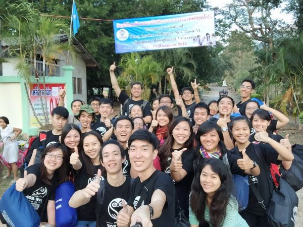 School of Economics — Overseas community service in Thailand