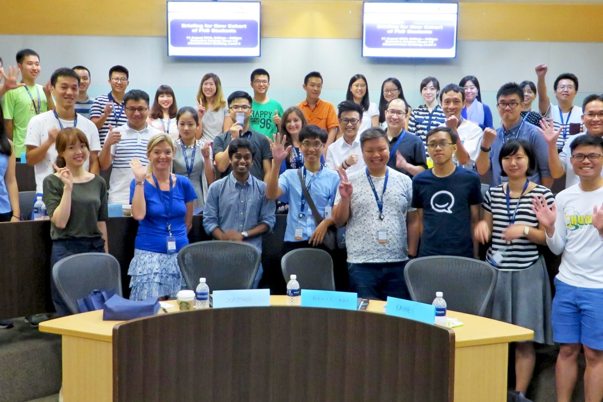 A Warm Welcome to the New Batch of PhD Students!