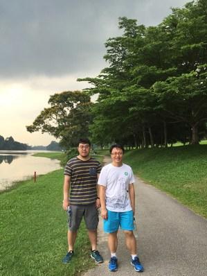 Jiang Liang atMacRitchie Reservoir Park