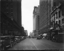 Looking west on Main towards Akard, 1927