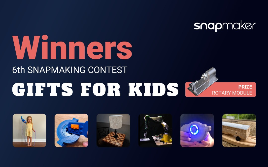 Announcing the Winners of the 6th Snapmaking Contest!
