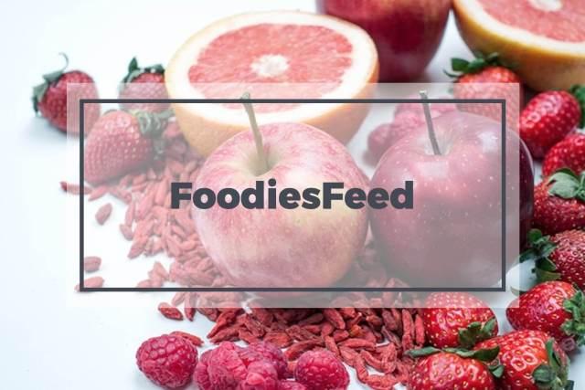 Foodies feed banco de imagens gratuito