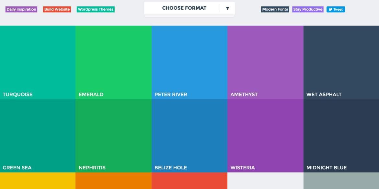 Flat UI Colors