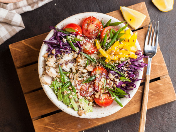 Places Eat Healthy Food