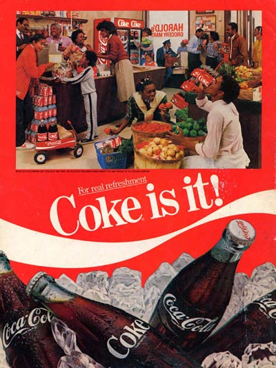 A Study Of Great Advertising Print Ads From Coco Cola