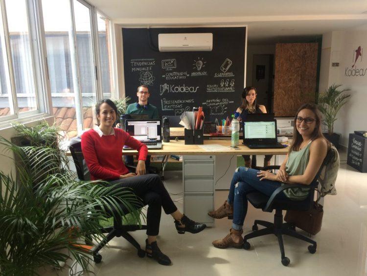 La oficina de Koideas en Colombia.