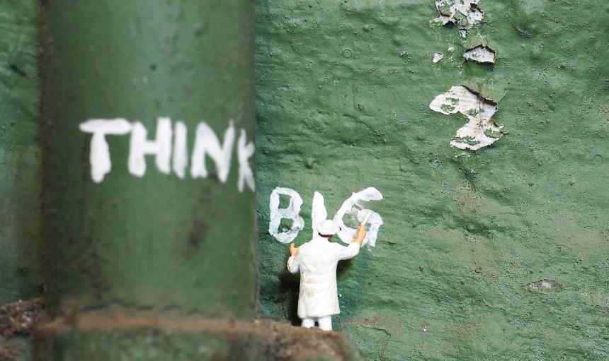 Pensemos en grande todos juntos