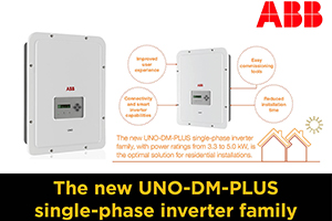 ABB unveils digitally enabled, self-commissioning solar inverter