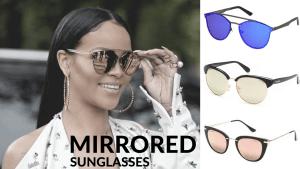 Rihanna w lustrzankach