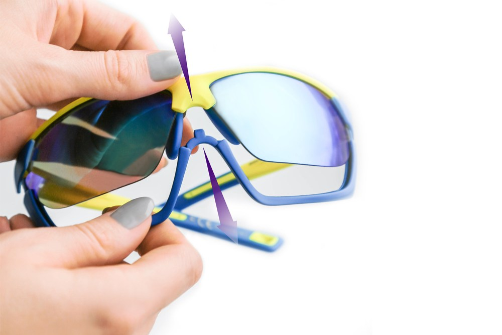 Funkcja Double Face w okularach Solano Sport