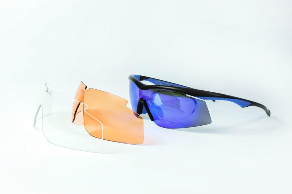 Wymienne soczewki w okularach Solano Sport