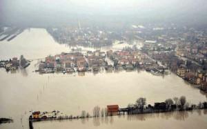 L'alluvione a Bastiglia.