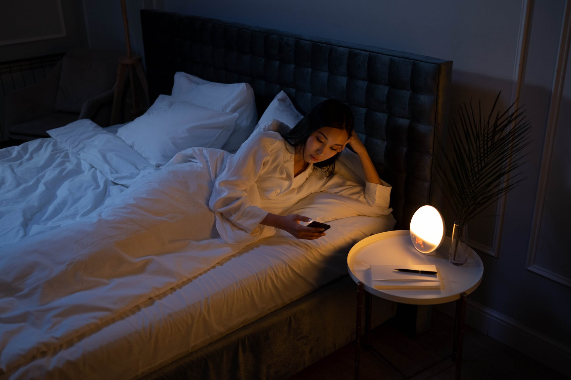 light dawn people relaxation