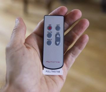 La mini télécommande du NuForce DDA-100