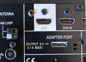 Pioneer VSX-S510, prise HDMI