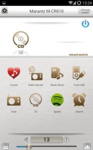 Marantz Control App