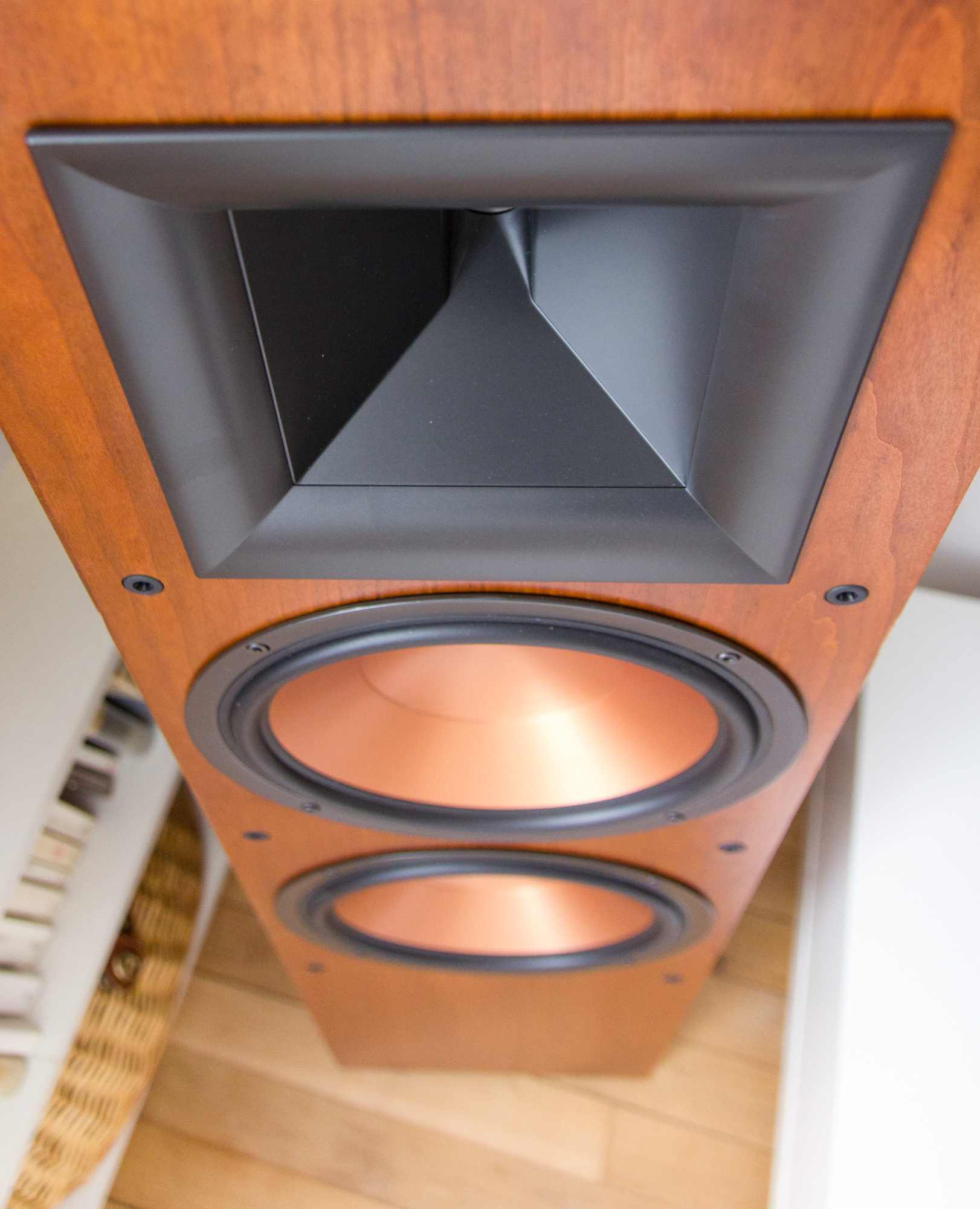 Review Klipsch Rf 7 Mkii Son Vidocom Blog Class G H Amplifiers Do They Deliver On Their Promise Of High Audio Power From The Amplifier To Same Sound Level As An Average Speaker What Is Point It Outstanding Decrease In Distortion And