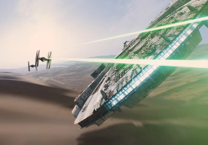 Star Wars 7 Faucon Millenium