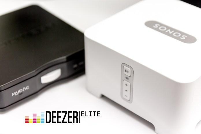 Deezer Elite et Sonos