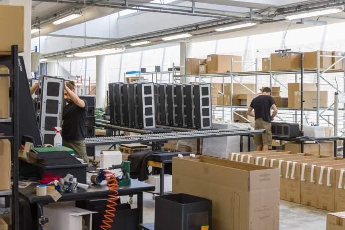 Visite usine Sonus Faber