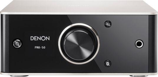L'ampli Denon PMA-50, avec entrée numérique, complément idéal d'un téléviseur HD avec une paire d'enceintes compactes
