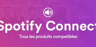 Tous les produits Spotify Connect