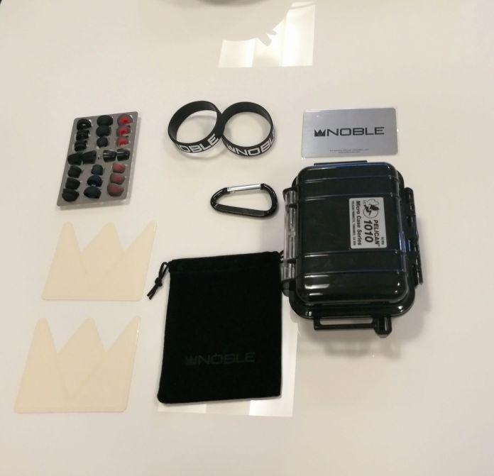 Le packaging fournis par Noble Audio.
