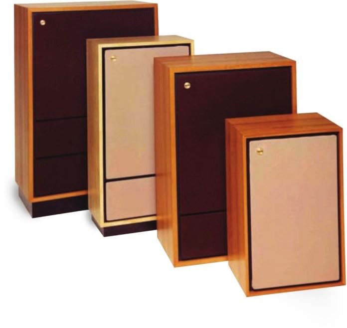 Les enceintes Tannoy Legacy originales, des années 1970.