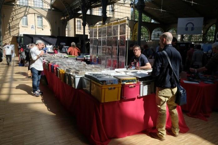 Le convention vinyle des Sound Days 2018 avec Vinyl Expo et ses disquaires.
